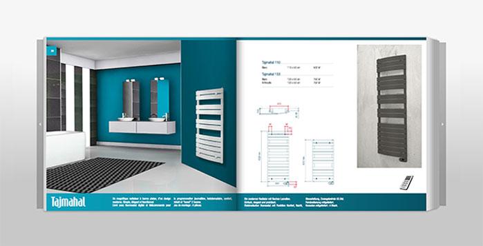 Tajmahal radiateur sèche-serviette électrique db distribution